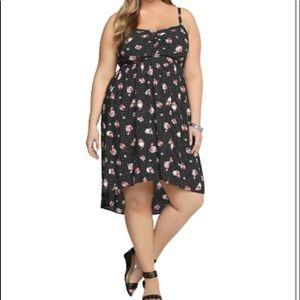 Torrid Polka Dot Flowered Dress